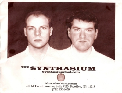 Synthasium flyer from the late 1990s